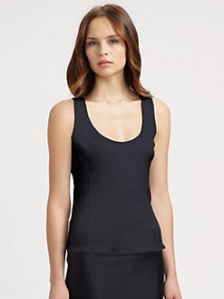 Armani Collezioni - Silk Charmeuse Tank