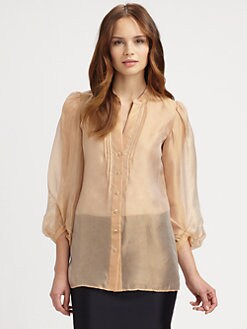 Armani Collezioni - Silk Gauze Blouse
