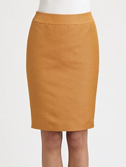 Armani Collezioni - Lurex Ottoman Pencil Skirt