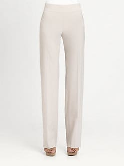 Armani Collezioni - Wide-Leg Wool Trousers