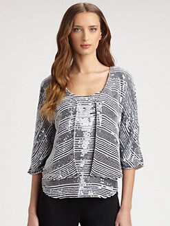 Armani Collezioni - Sequined Nautical Cardigan