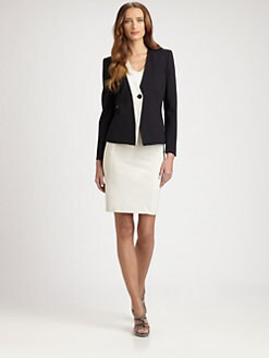 Armani Collezioni - Colorblock Jersey Jacket