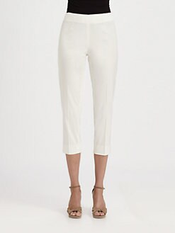 Armani Collezioni - Stretch Cotton Capri Pants