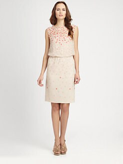 Armani Collezioni - Silk Petal Dress