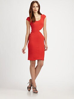 Armani Collezioni - Colorblock Dress