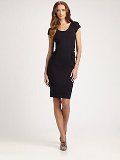 Armani Collezioni - Ruched Milano Jersey Dress