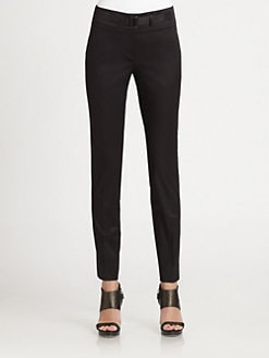 Armani Collezioni - Slim Stretch Cotton Pants