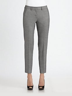Armani Collezioni - Cropped Slim Pants