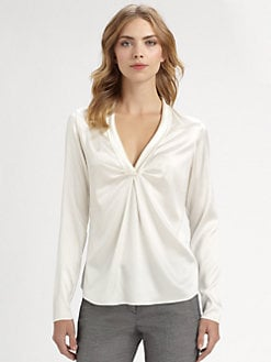 Armani Collezioni - Stretch Silk Blouse