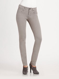 Armani Collezioni - Brushed Cotton Slim Jeans