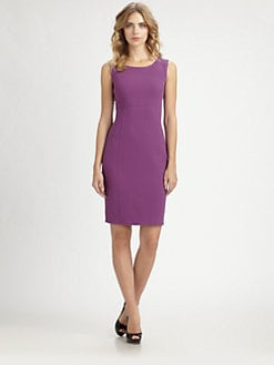 Armani Collezioni - Seamed Crepe Dress