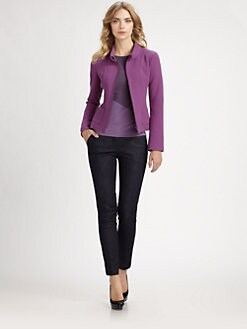 Armani Collezioni - Double-Face Crepe Jacket