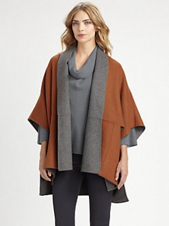 Armani Collezioni - Reversible Poncho