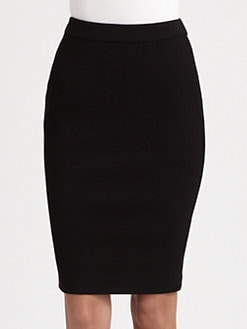 Armani Collezioni - Crepe Jersey Pencil Skirt