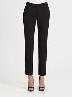 Armani Collezioni - Stretch Wool Ankle Pants