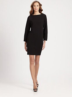 Armani Collezioni - Crepe Jersey Bell-Sleeve Dress