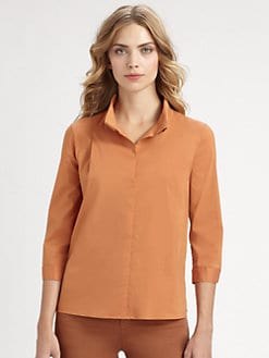 Armani Collezioni - Stretch Cotton Shirt