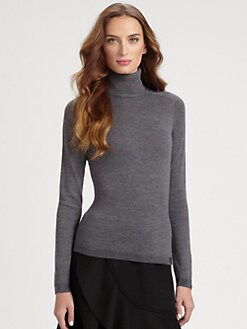 Armani Collezioni - Wool Turtleneck Sweater