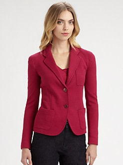 Armani Collezioni - Tile Jersey Jacket