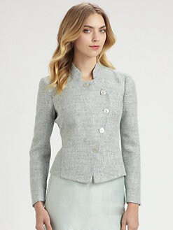 Armani Collezioni - Asymmetrical Button Jacket