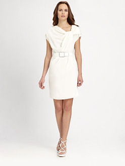 Armani Collezioni - Twist-Neckline Dress