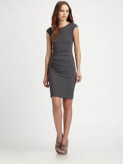 Armani Collezioni - Ruched Jersey Dress