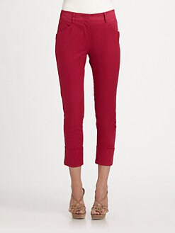 Armani Collezioni - Cuffed Slim Trousers