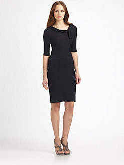 Armani Collezioni - Cashmere Knot Dress