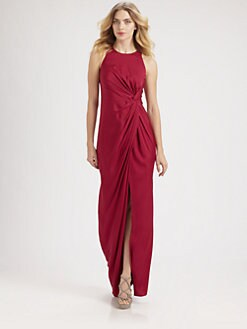 Armani Collezioni - Silk Twist Knot Gown