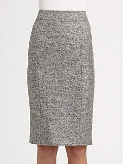 Armani Collezioni - Seamed Pencil Skirt