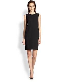 Armani Collezioni - Double Face Wool Crepe Dress