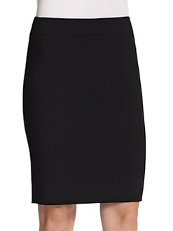 Armani Collezioni - Featherweight Wool Pencil Skirt