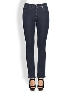 Armani Collezioni - Indigo Denim Five-Pocket Jeans