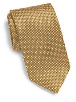Ermenegildo Zegna - Mini-Diamond Silk Tie