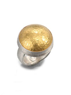 GURHAN - 24K Gold & Sterling Silver Dome Ring