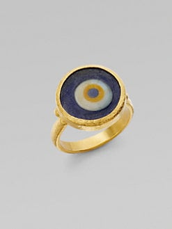 GURHAN - 24K Gold Evil Eye Ring