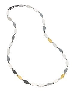 GURHAN - Sterling Silver & 24K Yellow Gold Necklace