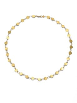 GURHAN - 24K Gold Mini Flake Link Necklace