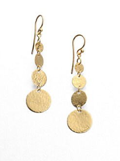 GURHAN - 24K Gold Lush Drop Earrings