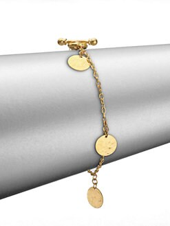GURHAN - 24K Gold Lush Charm Bracelet