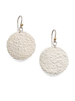 GURHAN - Sterling Silver & 24K Yellow Gold Earrings