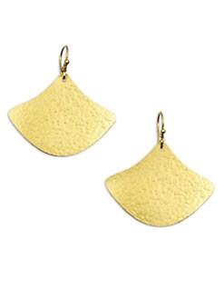 GURHAN - 24K Gold Textured Drop Earrings