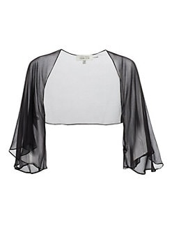 Teri Jon - Chiffon Shrug