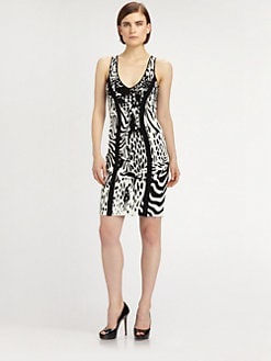 Teri Jon - Animal Patterned Dress