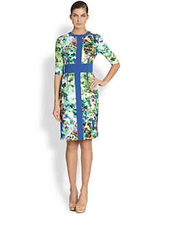 Teri Jon - Floral-Print Dress