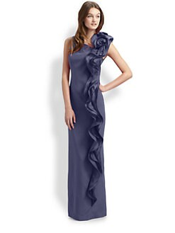 Teri Jon - Silk Gown