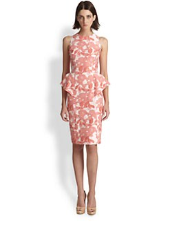 Teri Jon - Floral Peplum Dress