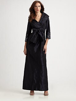 Teri Jon - Taffeta Gown