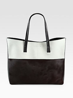 Narciso Rodriguez - Mixed-Media Two-Tone Tote