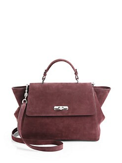 Giorgio Armani - Suede Top Handle Bag